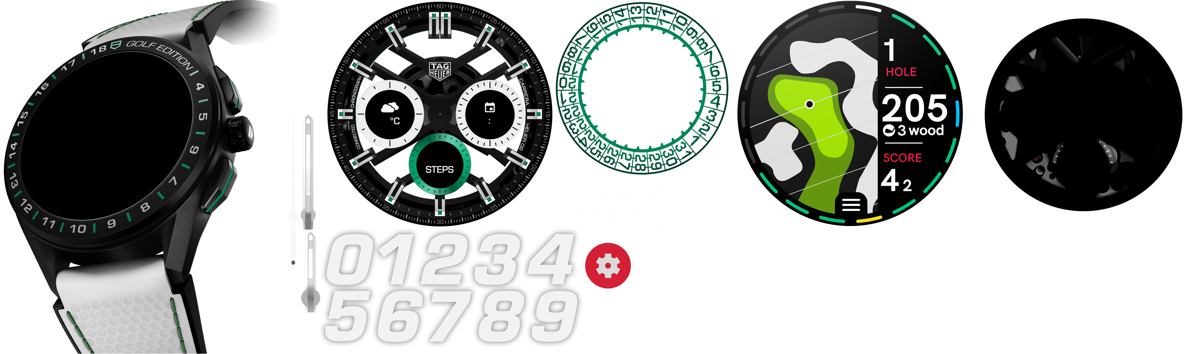 TAG Heuer Connected Golf Edition - SBG8A82.EB0206