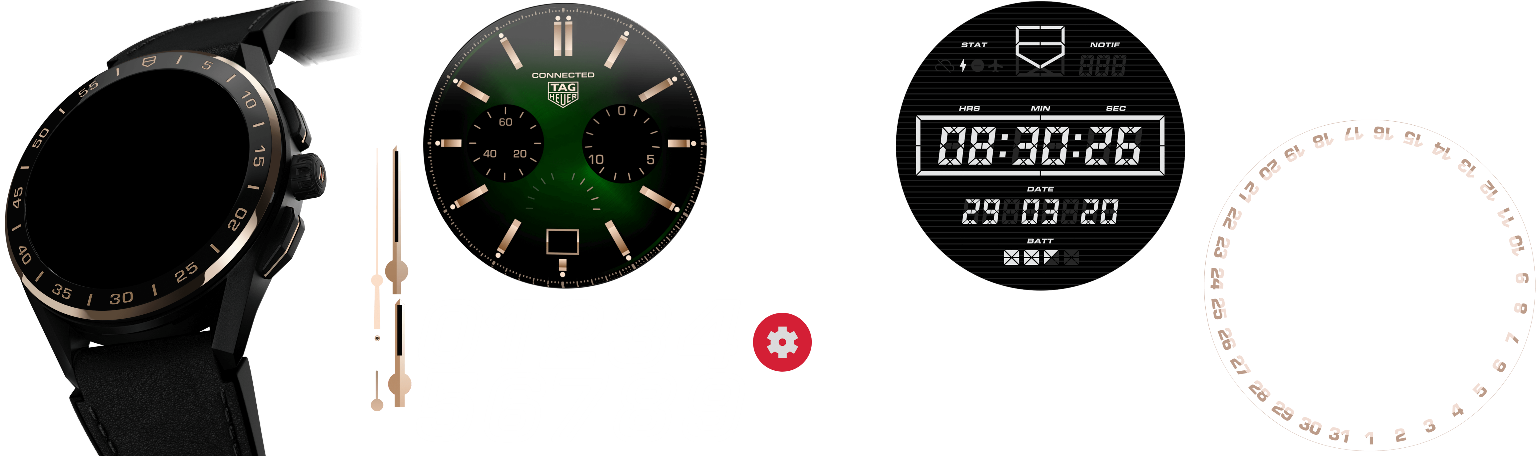 TAG Heuer Connected - SBG8A83.BT6254