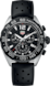TAG Heuer Formula 1 Schwarz Kautschuk Edelstahl mit schwarzer PVD-Beschichtung Schwarz