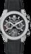 TAG Heuer Carrera Schwarz Kautschuk und Alligatorleder Titan mit schwarzer PVD-Beschichtung Schwarz