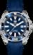 TAG Heuer Aquaracer Blau Kautschuk Edelstahl Aluminium Blau