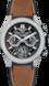 TAG Heuer Carrera Schwarz Kautschuk und Leder Titan mit schwarzer PVD-Beschichtung Schwarz