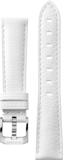 White Leather Band