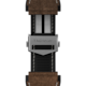Brown Rubber and leather Band