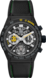 TAG Heuer Carrera x Senna Black Rubber and Leather Ceramic Black