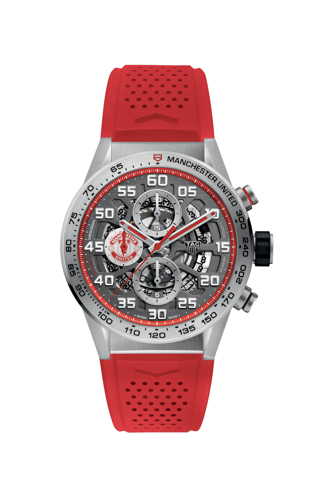 TAG HEUER CARRERA MANCHESTER UNITED SPECIAL EDITION