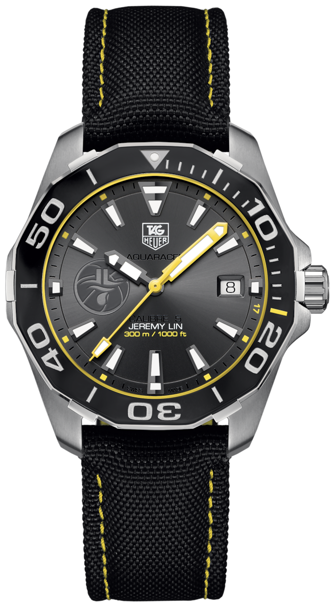 TAG HEUER AQUARACER JEREMY LIN SPECIAL EDITION