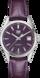 TAG HEUER CARRERA Purple Leather Alligator Steel Purple