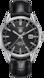 TAG Heuer Carrera Black Alligator Leather Steel HX0N07
