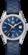 TAG Heuer Carrera Blue Leather Steel Blue
