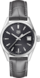 TAG HEUER CARRERA Grey Leather Alligator Steel Grey