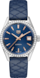 TAG Heuer Carrera Blue Leather Steel Blue