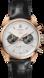 TAG Heuer Carrera Chronograph Gold Jack Heuer's Birthday Black Alligator Leather Gold 5N HX0U62
