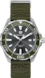 TAG Heuer Aquaracer Khaki Nylon Steel Grey