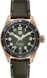 TAG HEUER AUTAVIA Black Leather Bronze Green
