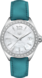 TAG HEUER FORMULA 1 Blue Leather Steel White