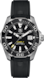 TAG Heuer Aquaracer Blue and Yellow Rubber Steel Black