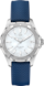 TAG Heuer Aquaracer Blue Rubber Steel White