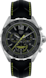 TAG HEUER FORMULA 1 Black Leather Steel Black