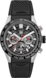 TAG HEUER CARRERA Black Rubber Steel & Ceramic Black