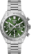 TAG HEUER CARRERA No Colour Steel Steel Green