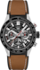 TAG Heuer Carrera No Colour Rubber and Leather Steel & Ceramic Black