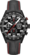 TAG Heuer Carrera Black Alligator Leather Titanium Black PVD Black