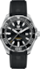 TAG Heuer Aquaracer Black Rubber Steel Black