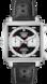 TAG Heuer Monaco 50th Anniversary Black Leather Steel Black
