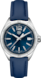 TAG HEUER FORMULA 1 Blue Leather Steel Blue