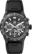 TAG HEUER CARRERA Black Rubber Carbon Black