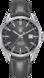 TAG HEUER CARRERA Grey Leather Alligator Steel HX0N09