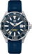 TAG Heuer Aquaracer Blue Rubber Steel Alu Blue