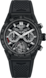 TAG Heuer Carrera Black Rubber Titanium Carbon Black