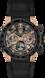 TAG Heuer Carrera Black Alligator Leather Steel and Gold Black