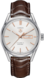 TAG HEUER CARRERA Brown Leather Alligator Steel Silver