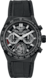 TAG HEUER CARRERA Black Rubber and Alligator Ceramic Black