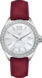 TAG HEUER FORMULA 1 Red Leather Steel White