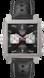 TAG Heuer Monaco 50th Anniversary Black Leather Steel Grey
