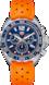 TAG HEUER FORMULA 1 Orange Rubber Steel Blue