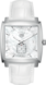 TAG HEUER MONACO White Leather Alligator Steel White