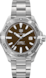 TAG HEUER AQUARACER No Color Steel Steel Brown
