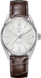 TAG Heuer Carrera Brown Alligator Leather Steel Silver