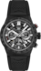 TAG Heuer Carrera Black Rubber Steel & Carbon Black