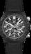 TAG Heuer Carrera Negro Caucho Acero y carbono Negro
