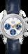 TAG Heuer Carrera 160 Aniversario Azul Piel de cocodrilo Acero Blanco
