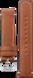 TAG HEUER AUTAVIA Bracelet marron en cuir