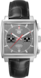 TAG Heuer Monaco Calibre 12 Final Edition Noir Cuir d'alligator Acier Gris