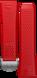 Bracelet rouge en caoutchouc