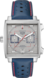 TAG Heuer Monaco 50th Anniversary Bleu Cuir Acier Gris